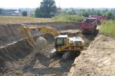 Escavazioni e movimento terra  Sottofondi
